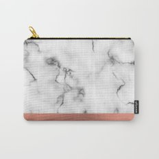 Marble & copper Carry-All Pouch