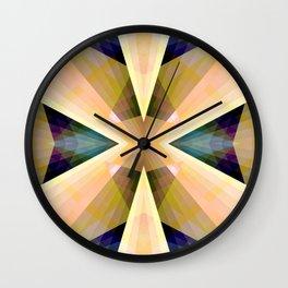 Geometric Mandala 03 Wall Clock