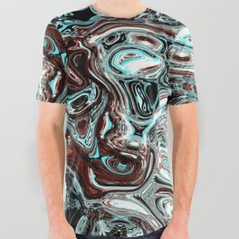 pouring emotions All Over Graphic Tee
