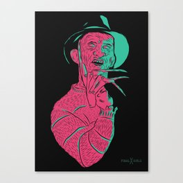 Freddy Kreuger Canvas Print