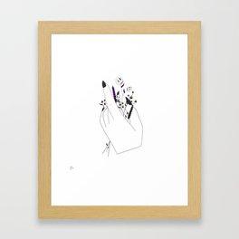 Handful of Candycorn Framed Art Print