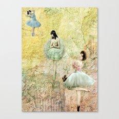 Petit Pas (Little Steps) Canvas Print