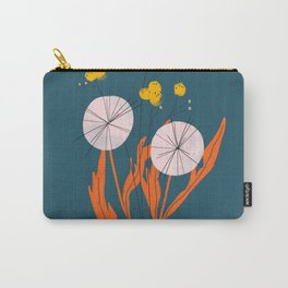 Wildflowers Dancing at Dusk Carry-All Pouch