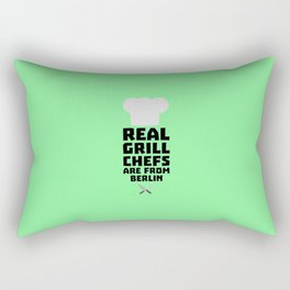 Real Grill Chefs are from Berlin T-Shirt Dn803 Rectangular Pillow