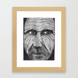 Mr. Intense Framed Art Print