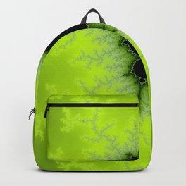 Fractal Mandelbrot Green Backpack