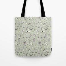 Witchcraft Pattern Tote Bag