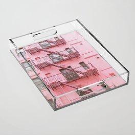 Pink Soho NYC Acrylic Tray