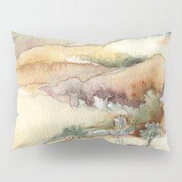 An Arroyo Windmill Pillow Sham