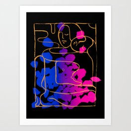 The Embrace Art Print
