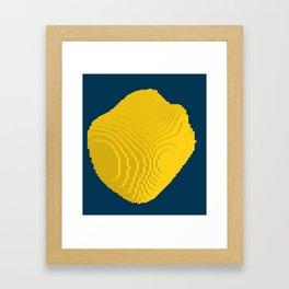Nice blob Framed Art Print