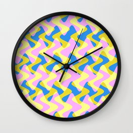 Crosswave Pink - Electron Series 003 Wall Clock