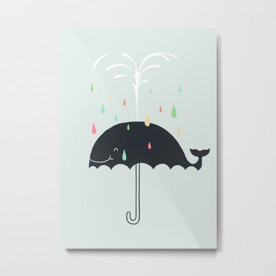 Happy Rainy Day Metal Print