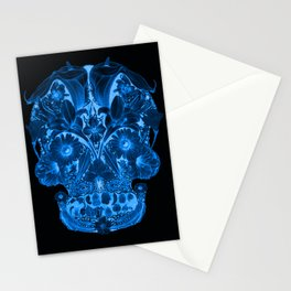 OG Floral Skull II Stationery Cards