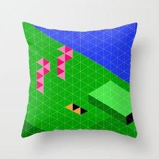 Mario World 2-2 Throw Pillow