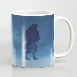 Beast Silhouette - Beauty and the Beast Coffee Mug