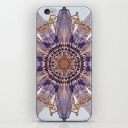 Passion Flower Mandala iPhone Skin