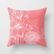 out garden Throw Pillow