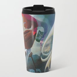 Self-Made Man and Empty-Headed Woman (1994) Travel Mug