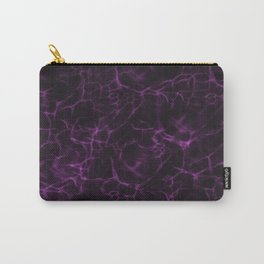 Abstract purple Carry-All Pouch