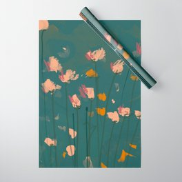 A Field Of Flowers Bloom Wrapping Paper