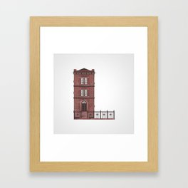The Letter L Framed Art Print