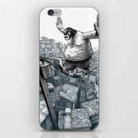 furry iPhone & iPod Skins featuring Furry Fingers by Jason Tirendi