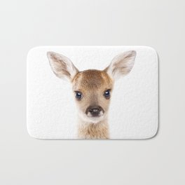 Baby Deer, Baby Animals Art Print By Synplus Bath Mat