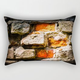 Bricks And Mortar Rectangular Pillow