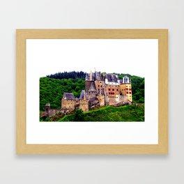castle eltz, germany. Framed Art Print