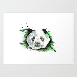 PANDA - THE HUNT Art Print