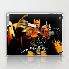 Golden Optimus Laptop & iPad Skin