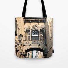 Old Barcelona Tote Bag