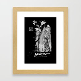 Indiana Jones and the Temple of Doom Framed Art Print