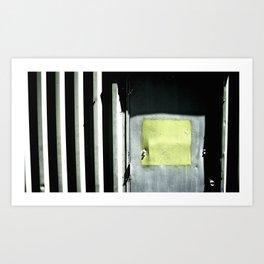 where does it lead Art Print