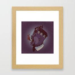 Screaming For Truth Framed Art Print