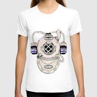 scuba T-shirts featuring Scuba Kid by Paula Bridgewater