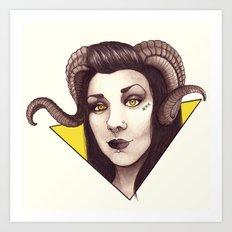 Id - The Devil is a Woman Art Print
