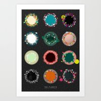 The Planets Print One Art Print