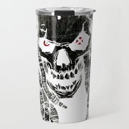 dark skull Travel Mug