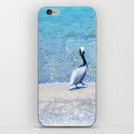 Strutting Pelican iPhone Skin