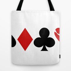 Love is a Game Tote Bag