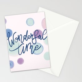 Wonderful Time #society6 #xmas Stationery Cards