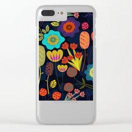 Magischer Nacht Garten 1 Clear iPhone Case