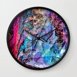 Rothko's Eye Wall Clock