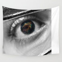 Blinded by love Wall Tapestry