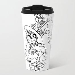 Mr.shiitake (mushroom) Travel Mug