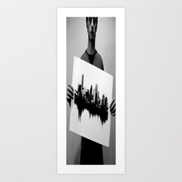 test pan Art Print