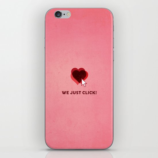 We just click iPhone & iPod Skin