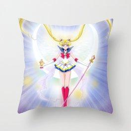 Super Sailor Saint Moon Throw Pillow
